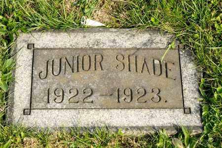 SHADE, JUNIOR - Richland County, Ohio   JUNIOR SHADE - Ohio Gravestone Photos