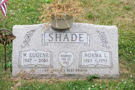 SHADE, NORMA L - Richland County, Ohio | NORMA L SHADE - Ohio Gravestone Photos