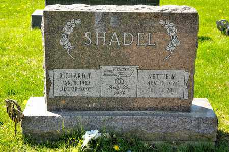 SHADEL, RICHARD T - Richland County, Ohio | RICHARD T SHADEL - Ohio Gravestone Photos