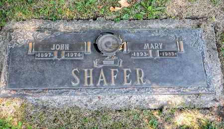 SHAFER, MARY - Richland County, Ohio | MARY SHAFER - Ohio Gravestone Photos