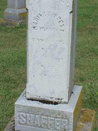 SHAFFER, MARIAH BISSETT - Richland County, Ohio | MARIAH BISSETT SHAFFER - Ohio Gravestone Photos