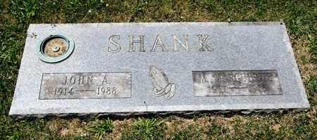 SHANK, JOHN A - Richland County, Ohio | JOHN A SHANK - Ohio Gravestone Photos