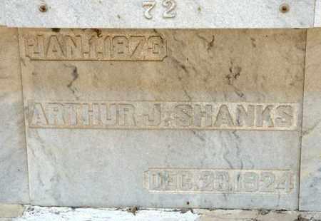 SHANKS, ARTHUR J - Richland County, Ohio | ARTHUR J SHANKS - Ohio Gravestone Photos