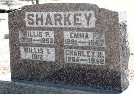 SHARKEY, WILLIS P - Richland County, Ohio | WILLIS P SHARKEY - Ohio Gravestone Photos