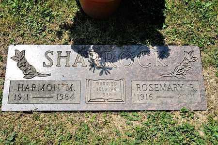 SHARROCK, ROSEMARY R - Richland County, Ohio   ROSEMARY R SHARROCK - Ohio Gravestone Photos
