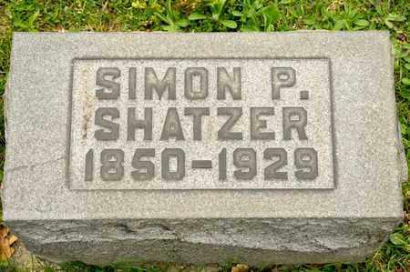 SHATZER, SIMON P - Richland County, Ohio   SIMON P SHATZER - Ohio Gravestone Photos