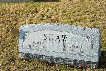SHAW, EMMA O - Richland County, Ohio   EMMA O SHAW - Ohio Gravestone Photos