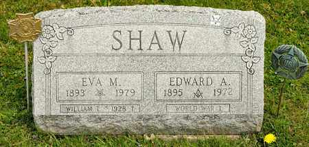 SHAW, EVA M - Richland County, Ohio | EVA M SHAW - Ohio Gravestone Photos