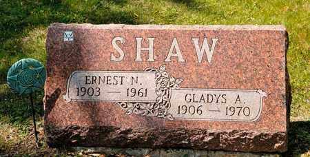 SHAW, GLADYS A - Richland County, Ohio | GLADYS A SHAW - Ohio Gravestone Photos