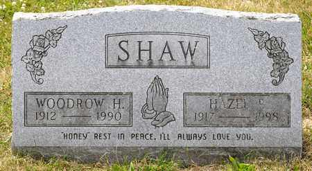 SHAW, WOODROW H - Richland County, Ohio | WOODROW H SHAW - Ohio Gravestone Photos