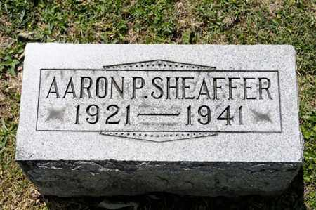SHEAFFER, AARON P - Richland County, Ohio | AARON P SHEAFFER - Ohio Gravestone Photos