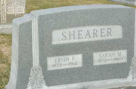 SHEARER, ERVIN F - Richland County, Ohio | ERVIN F SHEARER - Ohio Gravestone Photos