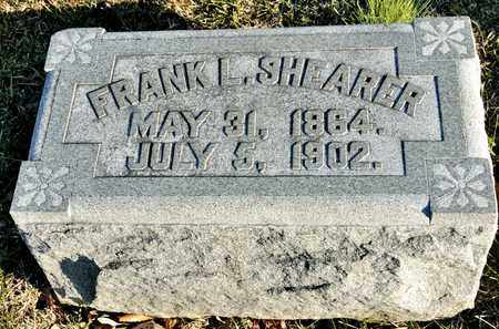 SHEARER, FRANK L - Richland County, Ohio | FRANK L SHEARER - Ohio Gravestone Photos