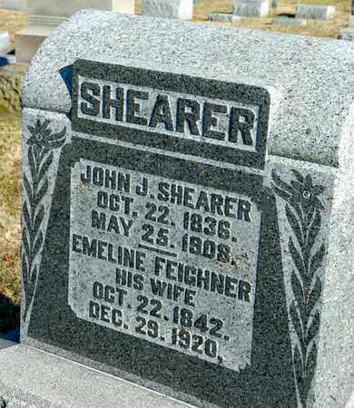 FEIGHNER SHEARER, EMELINE - Richland County, Ohio | EMELINE FEIGHNER SHEARER - Ohio Gravestone Photos