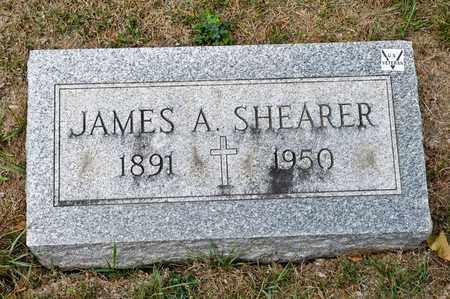 SHEARER, JAMES A - Richland County, Ohio | JAMES A SHEARER - Ohio Gravestone Photos