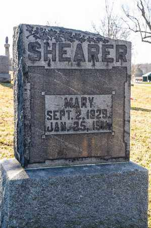 SHEARER, MARY - Richland County, Ohio | MARY SHEARER - Ohio Gravestone Photos