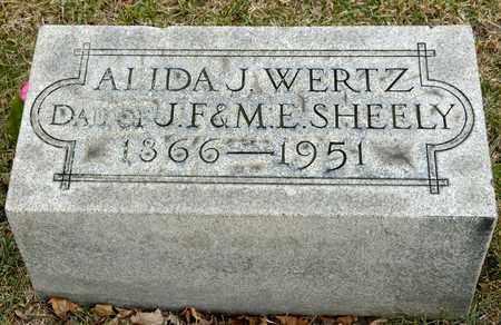 SHEELY, ALIDA J - Richland County, Ohio | ALIDA J SHEELY - Ohio Gravestone Photos