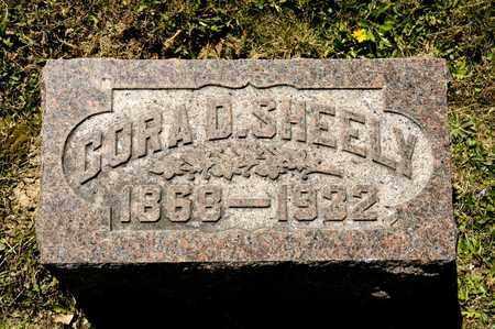 SHEELY, CORA D - Richland County, Ohio | CORA D SHEELY - Ohio Gravestone Photos