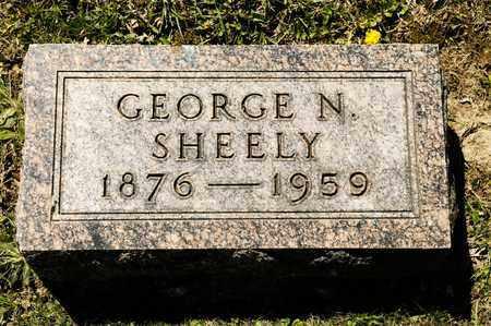 SHEELY, GEORGE N - Richland County, Ohio   GEORGE N SHEELY - Ohio Gravestone Photos