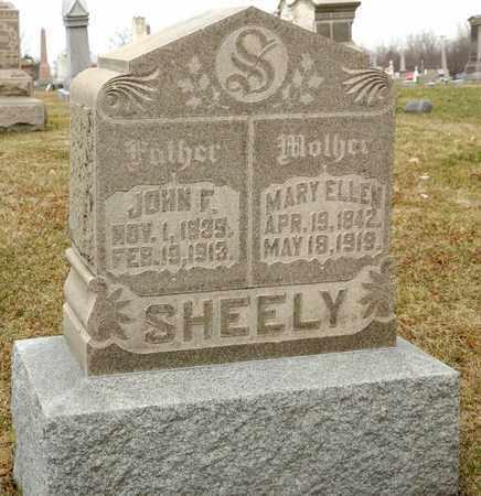 SHEELY, JOHN F - Richland County, Ohio   JOHN F SHEELY - Ohio Gravestone Photos
