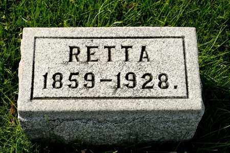 SHEELY, RETTA - Richland County, Ohio   RETTA SHEELY - Ohio Gravestone Photos