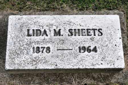 SHEETS, LIDA M - Richland County, Ohio | LIDA M SHEETS - Ohio Gravestone Photos