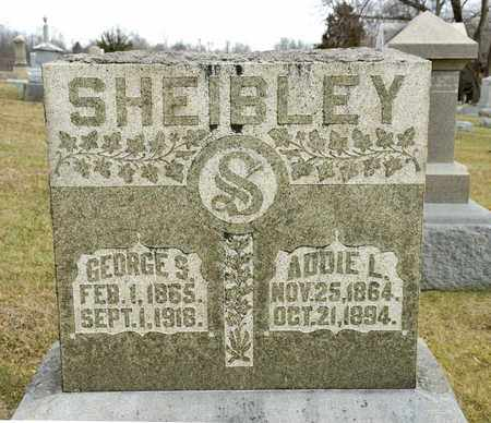 SHEIBLEY, ADDIE L - Richland County, Ohio | ADDIE L SHEIBLEY - Ohio Gravestone Photos