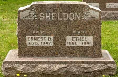 SHELDON, ETHEL - Richland County, Ohio | ETHEL SHELDON - Ohio Gravestone Photos