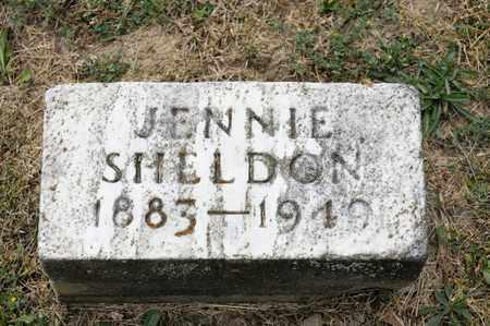 SHELDON, JENNIE - Richland County, Ohio   JENNIE SHELDON - Ohio Gravestone Photos