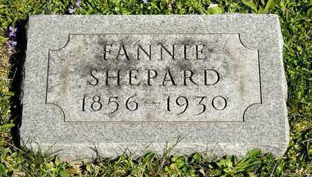 SHEPARD, FANNIE - Richland County, Ohio | FANNIE SHEPARD - Ohio Gravestone Photos