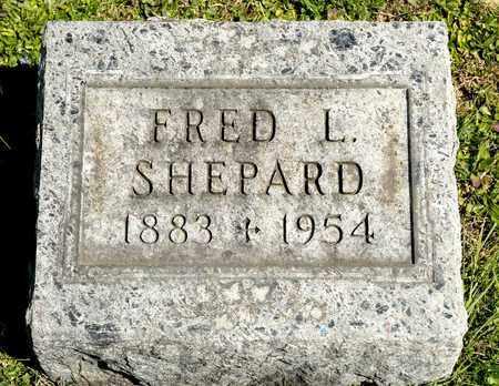 SHEPARD, FRED L - Richland County, Ohio   FRED L SHEPARD - Ohio Gravestone Photos