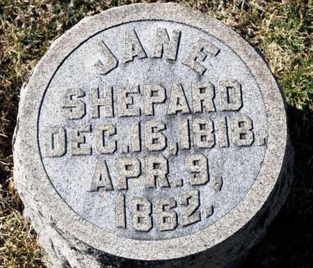 SHEPARD, JANE - Richland County, Ohio | JANE SHEPARD - Ohio Gravestone Photos