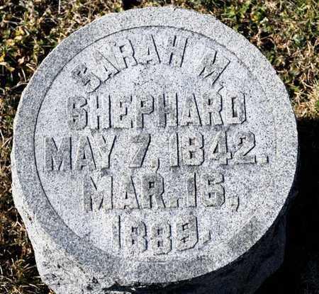 SHEPARD, SARAH M - Richland County, Ohio   SARAH M SHEPARD - Ohio Gravestone Photos