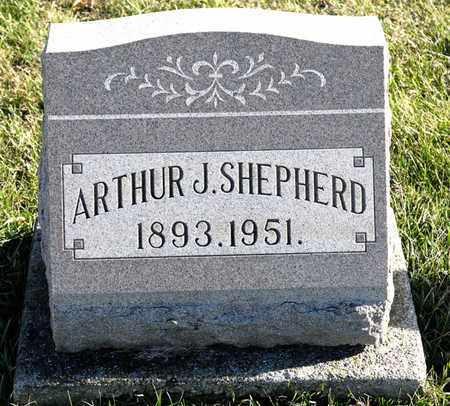 SHEPHERD, ARTHUR J - Richland County, Ohio | ARTHUR J SHEPHERD - Ohio Gravestone Photos