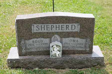 SHEPHERD, BOYD - Richland County, Ohio | BOYD SHEPHERD - Ohio Gravestone Photos