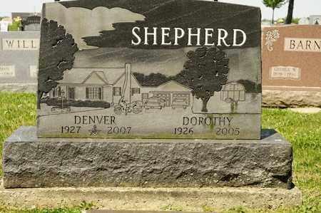 SHEPHERD, DENVER - Richland County, Ohio   DENVER SHEPHERD - Ohio Gravestone Photos