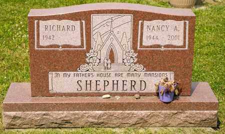 SHEPHERD, NANCY A - Richland County, Ohio   NANCY A SHEPHERD - Ohio Gravestone Photos