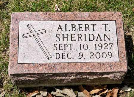 SHERIDAN, ALBERT T - Richland County, Ohio | ALBERT T SHERIDAN - Ohio Gravestone Photos