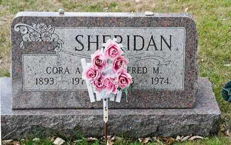 SHERIDAN, FRED M - Richland County, Ohio | FRED M SHERIDAN - Ohio Gravestone Photos
