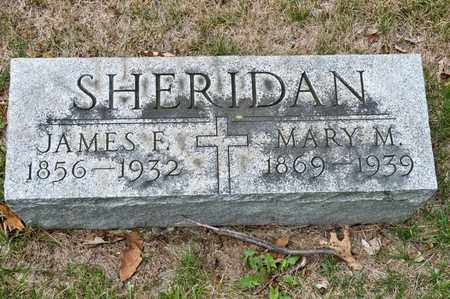 SHERIDAN, MARY M - Richland County, Ohio | MARY M SHERIDAN - Ohio Gravestone Photos
