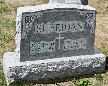 SHERIDAN, ROSE M - Richland County, Ohio | ROSE M SHERIDAN - Ohio Gravestone Photos