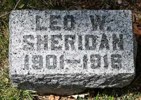 SHERIDAN, LEO W - Richland County, Ohio | LEO W SHERIDAN - Ohio Gravestone Photos