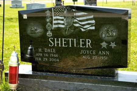 SHETLER, H DALE - Richland County, Ohio | H DALE SHETLER - Ohio Gravestone Photos