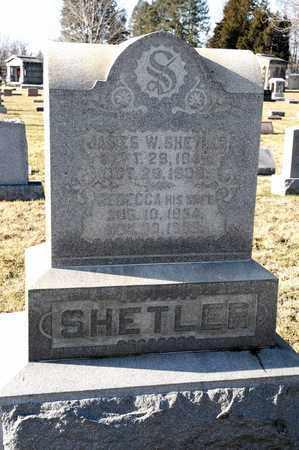 SHETLER, JAMES W - Richland County, Ohio   JAMES W SHETLER - Ohio Gravestone Photos