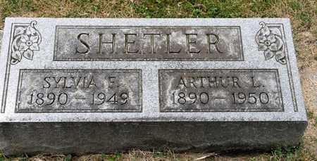 SHETLER, SYLVIA F - Richland County, Ohio | SYLVIA F SHETLER - Ohio Gravestone Photos