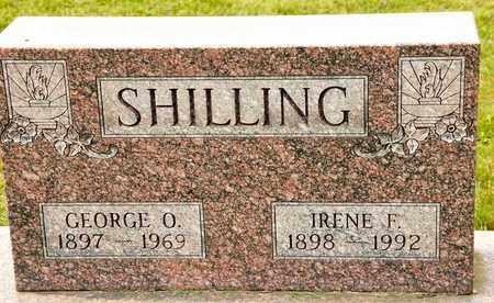 SHILLING, GEORGE O - Richland County, Ohio | GEORGE O SHILLING - Ohio Gravestone Photos