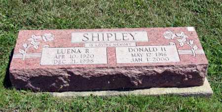 SHIPLEY, LUENA - Richland County, Ohio | LUENA SHIPLEY - Ohio Gravestone Photos