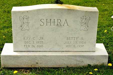 SHIRA, BETTY A - Richland County, Ohio | BETTY A SHIRA - Ohio Gravestone Photos