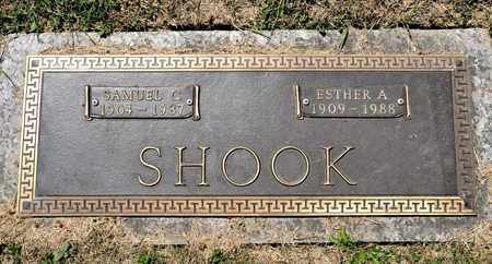 SHOOK, ESTHER A - Richland County, Ohio | ESTHER A SHOOK - Ohio Gravestone Photos