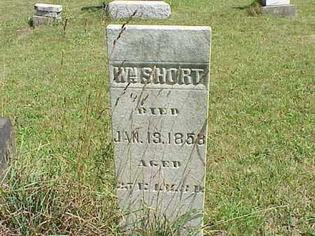 SHORT, WILLIAM - Richland County, Ohio | WILLIAM SHORT - Ohio Gravestone Photos